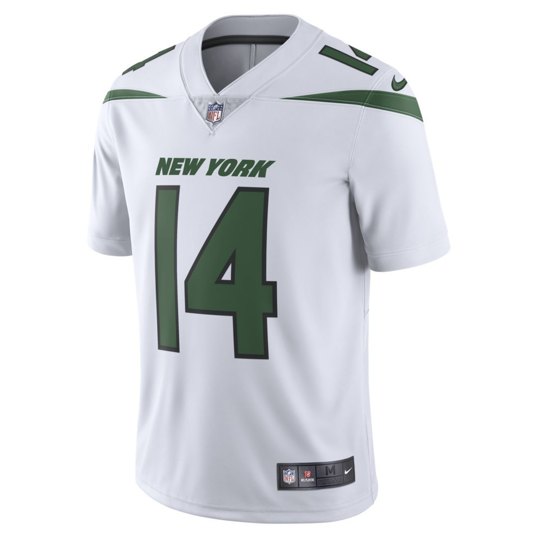 finest selection e727d a59cf NFL New York Jets (Sam Darnold) Men's Limited Football ...