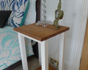 Rustic Barnwood Night Stand - Reclaimed Wood Bedside Tables - 1 drawer 1 door night stand#barnwood #bedside #door #drawer #night #reclaimed #rustic #stand #tables #wood