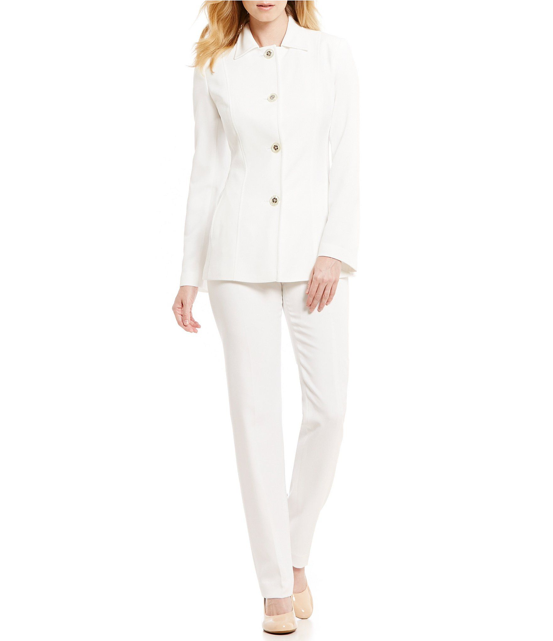 Fleur delacour wedding dress  Shop for John Meyer PointCollar Piece Pant Suit at Dillards