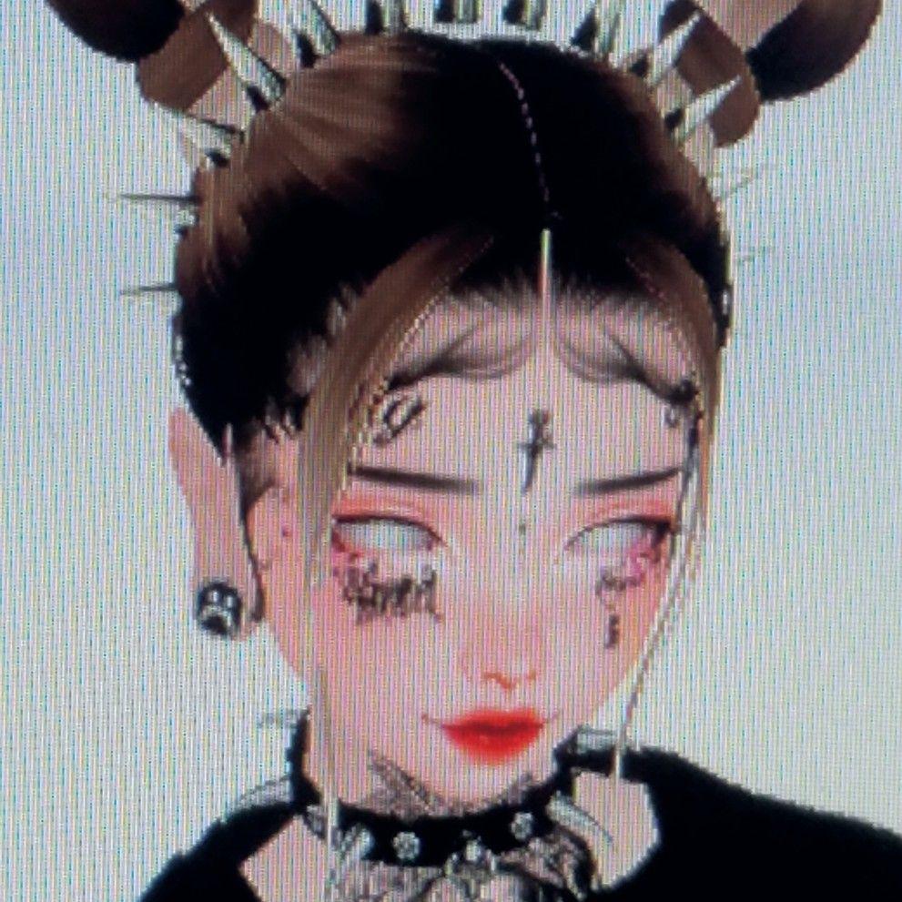 Imvu E Girl Goth Icon In 2020 Black Aesthetic Goth Icon