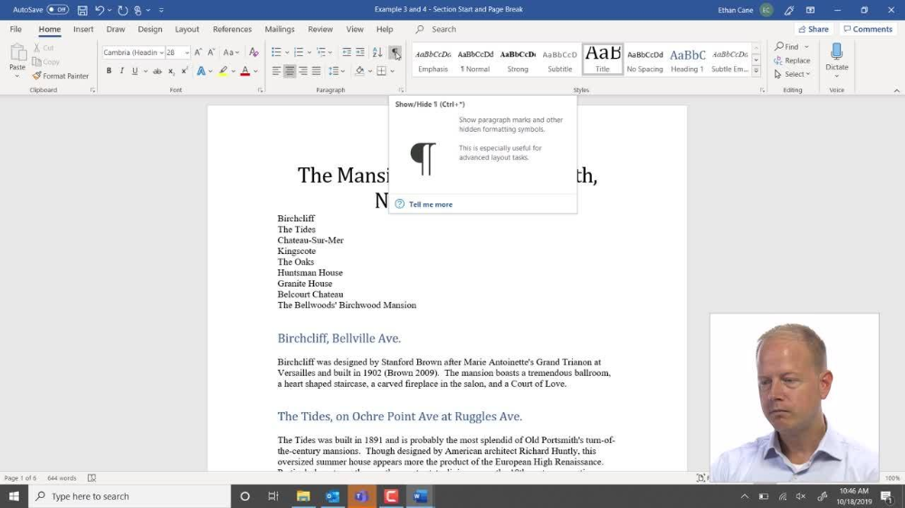 How To Delete An Unwanted Blank Page In Microsoft Word Words Microsoft Word Microsoft