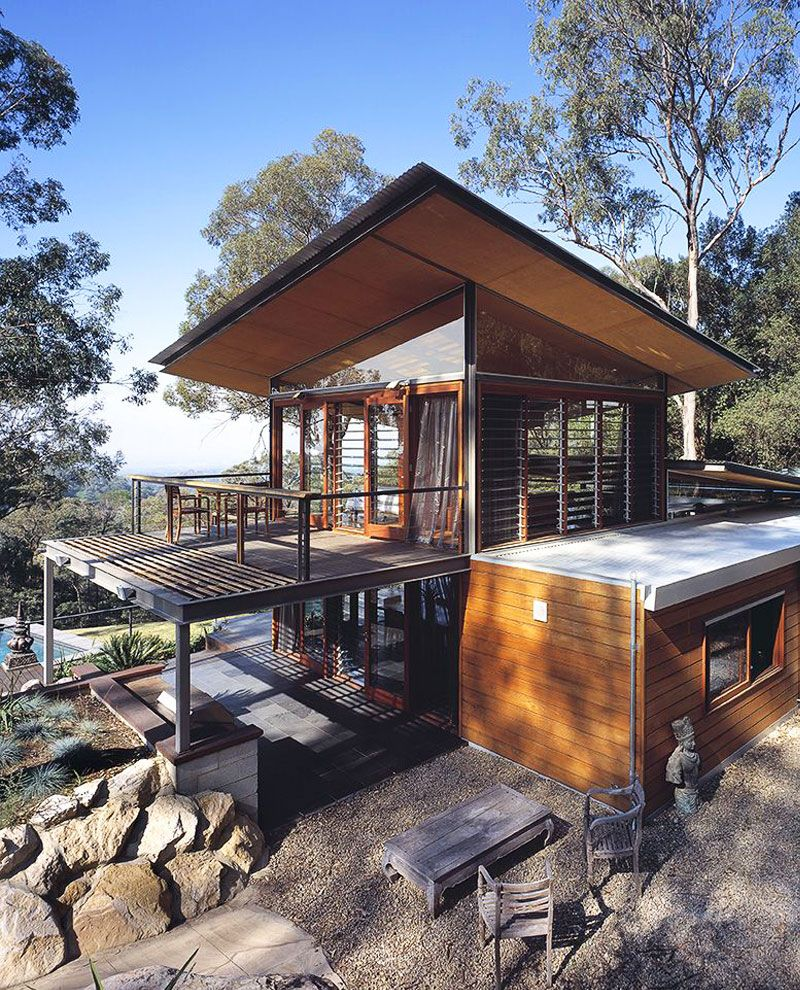 ♥ The Bowen Mountain House by CplusC Architecture | HomeDSGN, a daily source for inspiration and fresh ideas on interior design and home decoration.