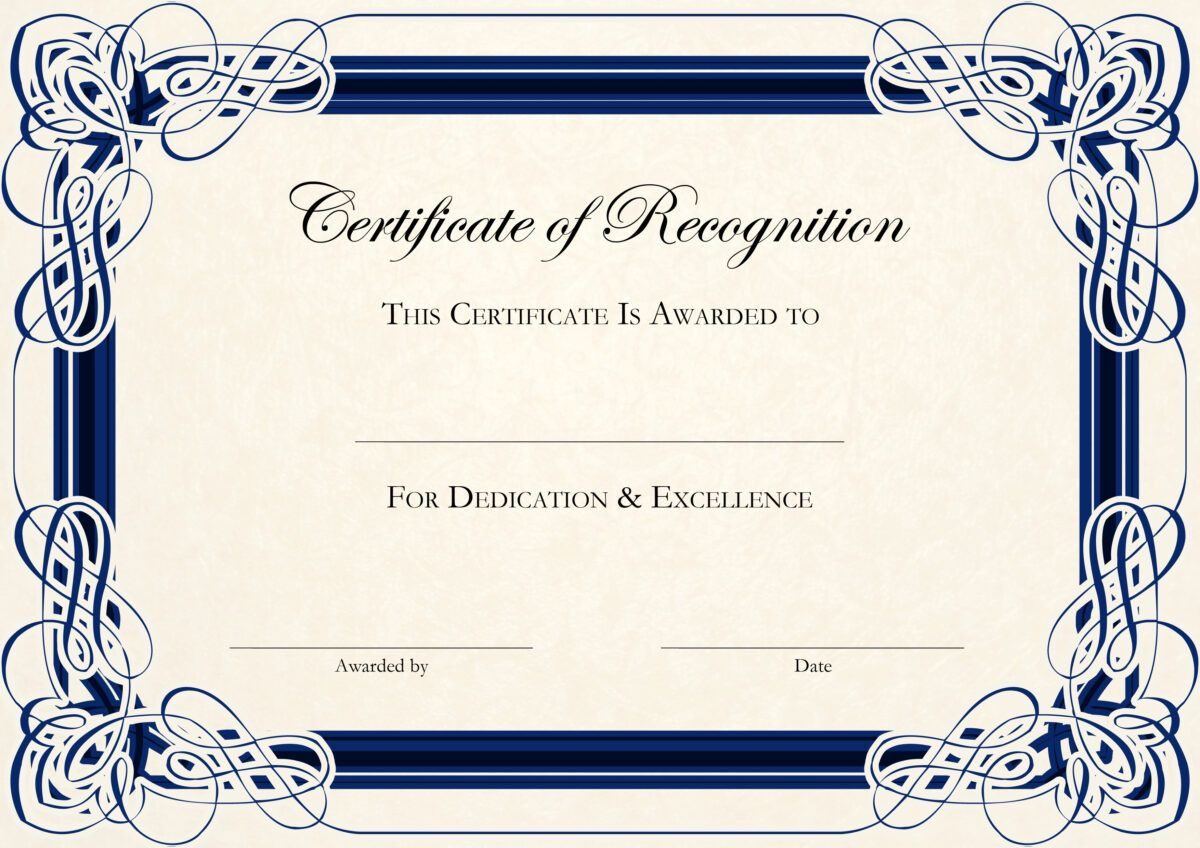Free Certificate Templates For Word With Regard To Dance Certifi Certificate Of Recognition Template Free Printable Certificate Templates Certificate Templates Dance certificate templates for word