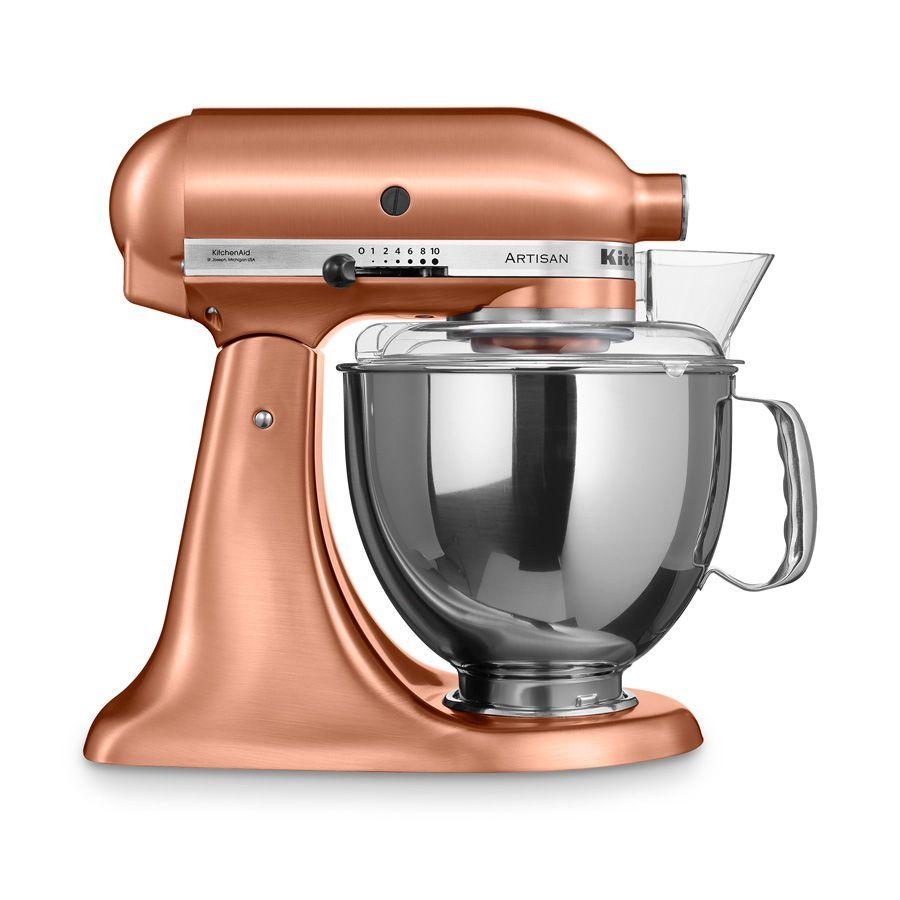 Küchenmaschine Artisan 4,8 l kupfer 6 tlg.   kitchen aid   Pinterest ...