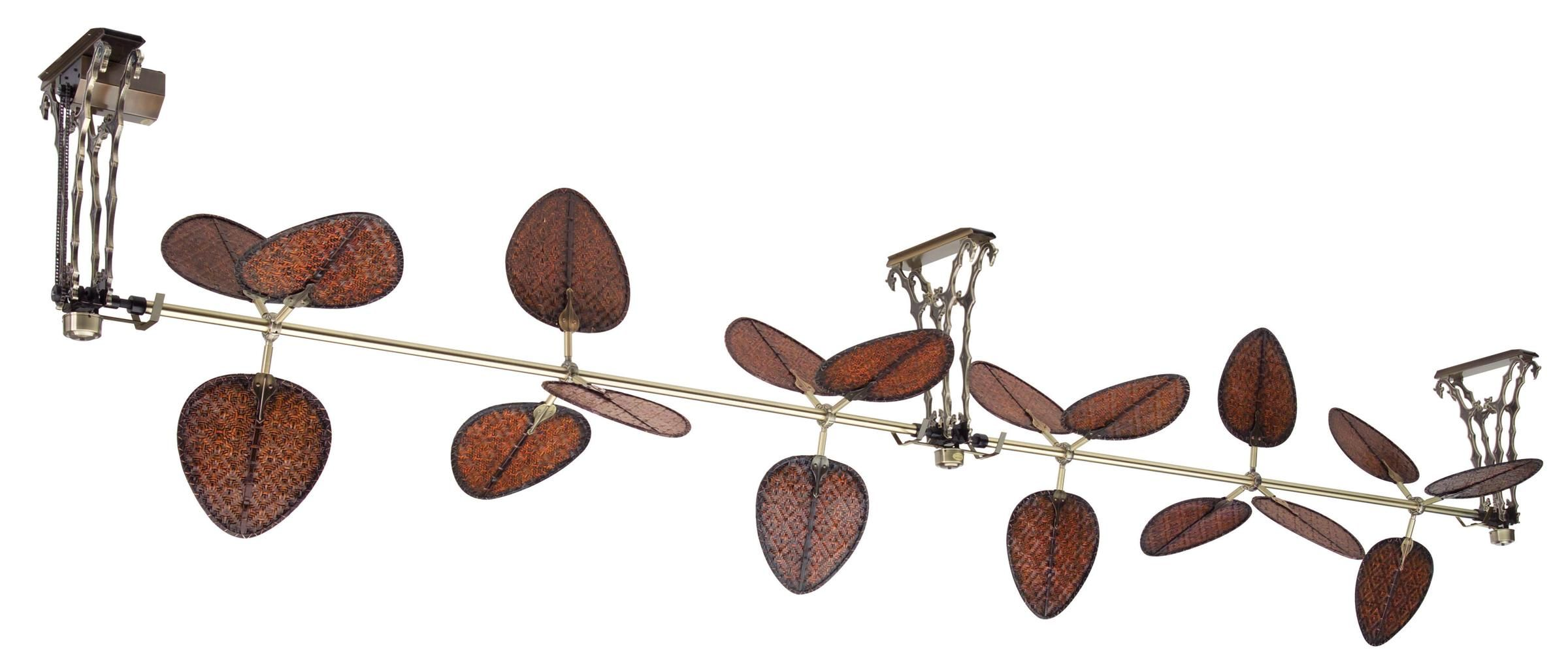 Another Fanimation ceiling fan the Palmetto can run as long as 45