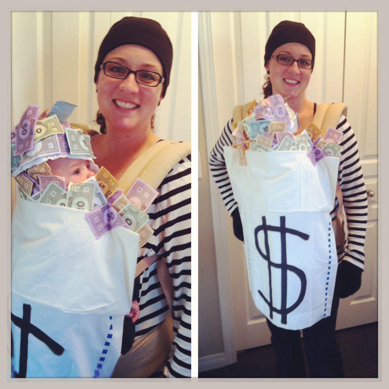 Mom and baby Halloween costume. DIY baby carrier costume  sc 1 st  Pinterest & Mom and baby Halloween costume. DIY baby carrier costume | Baby ...
