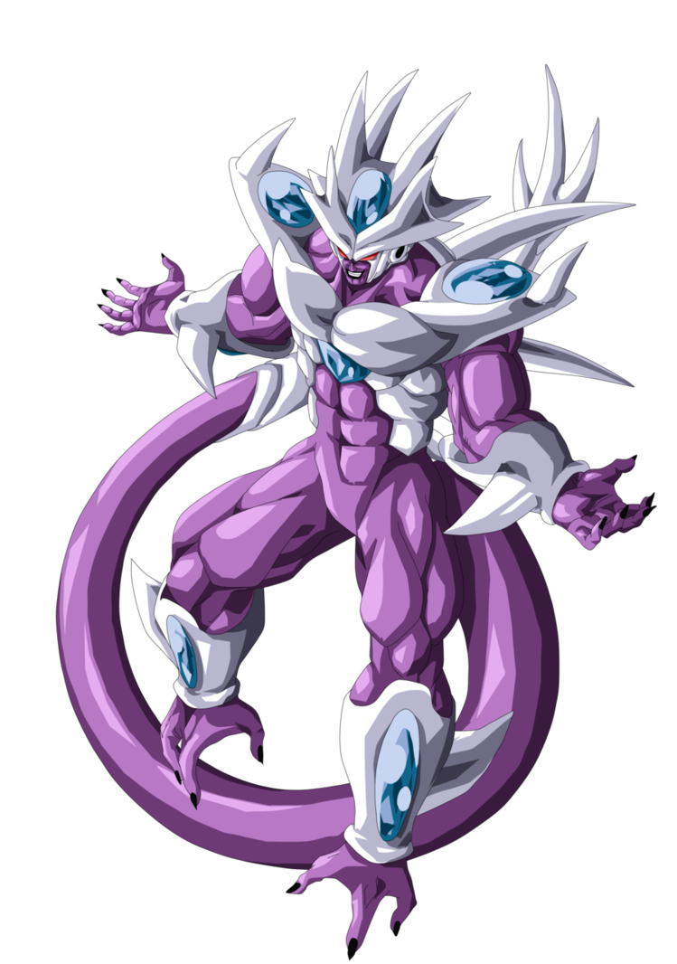 King Cold Fifth Form by alexiscabo1 on DeviantArt | DAGON BALL Z y ...