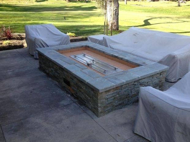 Stylish Build Your Own Gas Fire Pit Diy Gas Fire Pit ...
