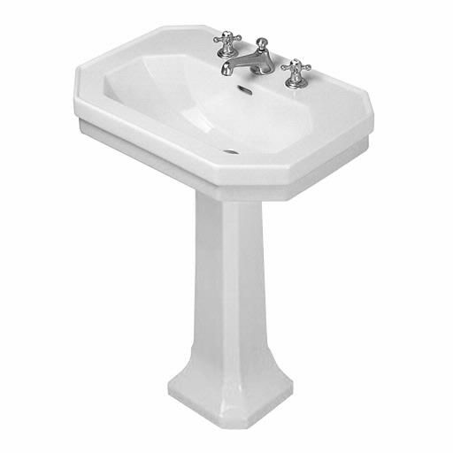 1930 Series Pedestal Washbasin Set 23 5 8 043860 085791 From