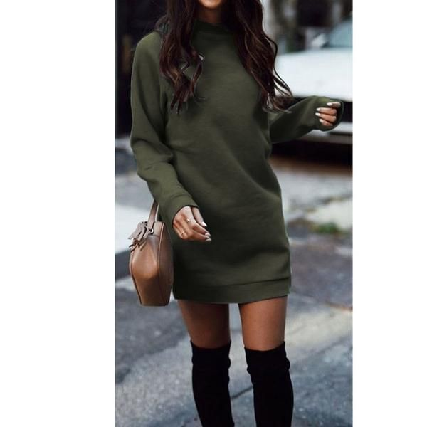 Knitted Winter Mini Dress $26.99 + FREE SHIPPING – My LifeSTYLE (Fall-Winter Fashion)!
