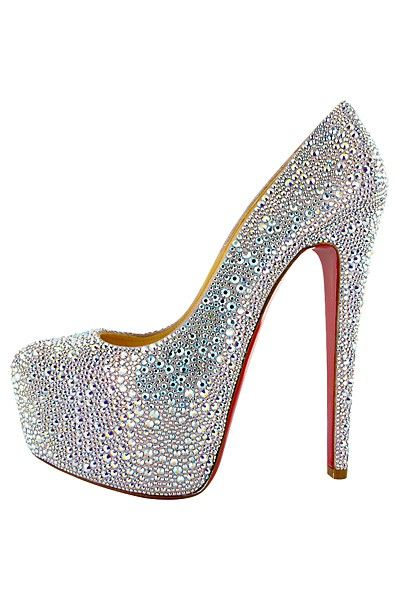 bac3a8caf46 Christian Louboutin - super sparkly and fun!   omg shoes ...
