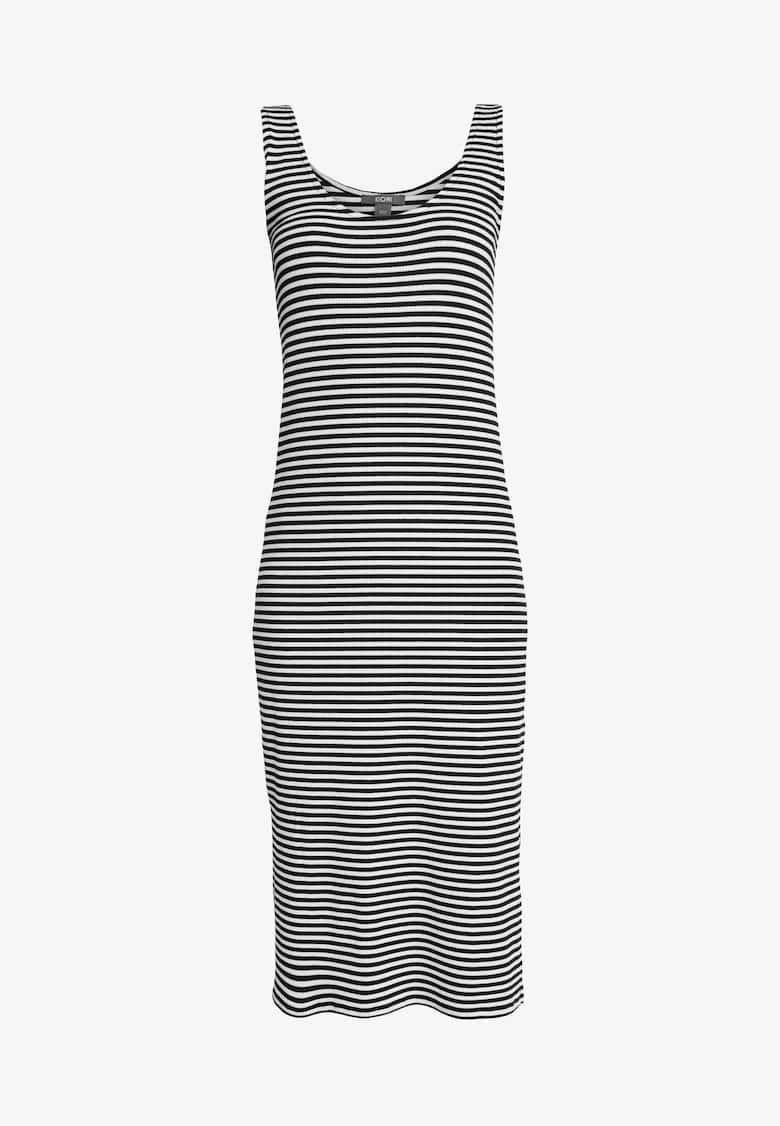 78d80c8c3 Jerseykjole - white/navy @ Zalando.no 🛒 в 2019 г. | Dresses 5 ...