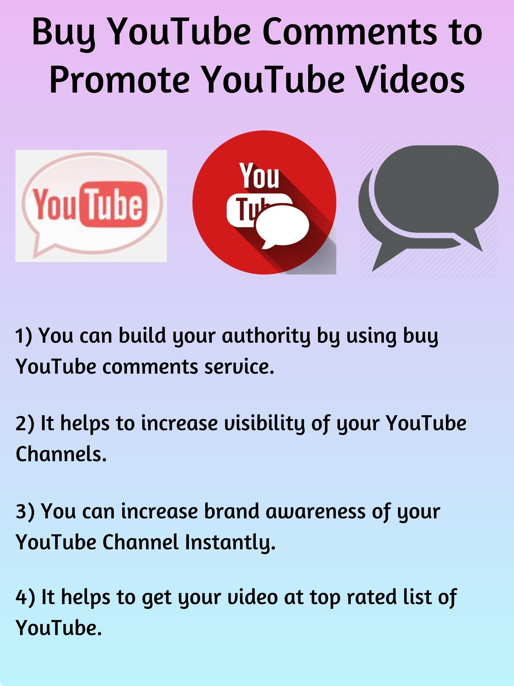 Buy Youtube Comments To Promote Youtube Videos Youtube Comments You Youtube Youtube Videos