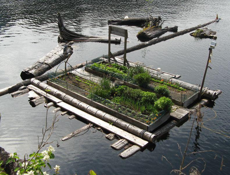 Floating Garden Gardening Dreams Pinterest Lakeside 400 x 300