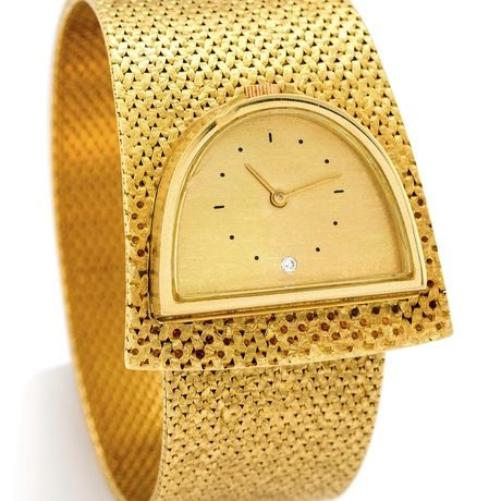 Zenith bracelet Watch 18k gold Swidd - antiquorum