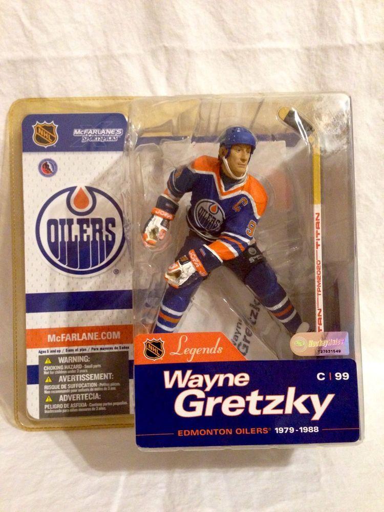 Mcfarlane Nhl Hockey Sportspicks Figure Legends Wayne Gretzky Edmonton Oilers Oilers Hockey Kids Edmonton Oilers