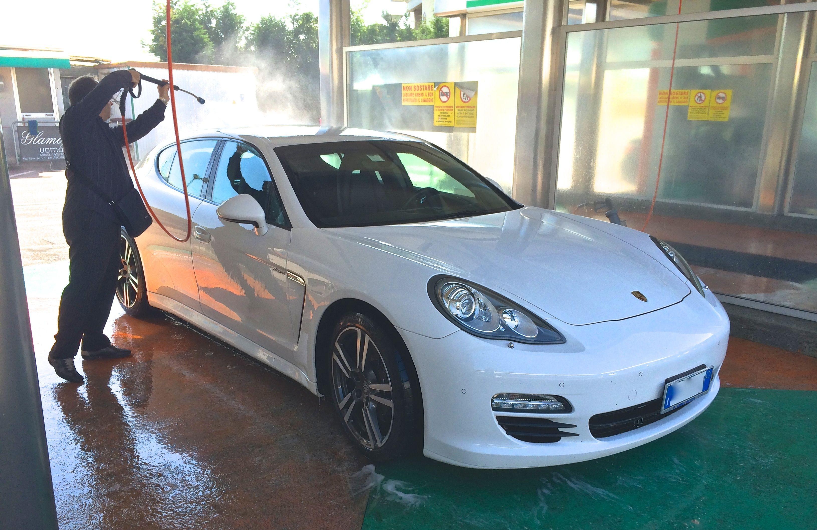 Panamera D Porsche CarWash SelfService