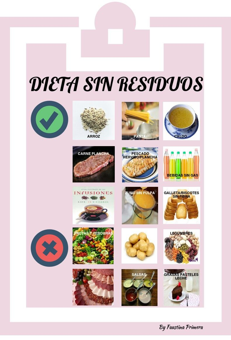 menus dieta baja en residuos