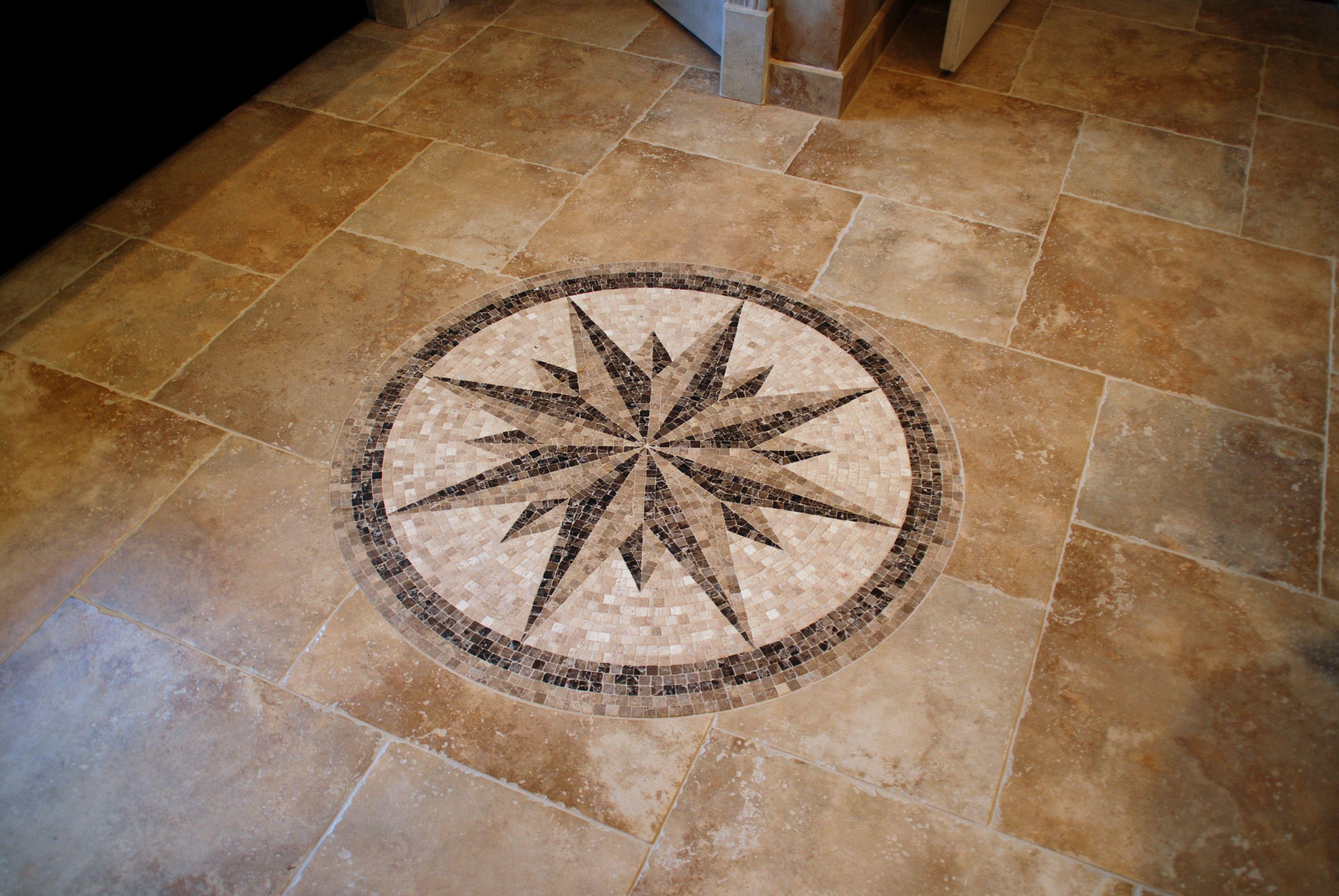 Mosaic tile medallion