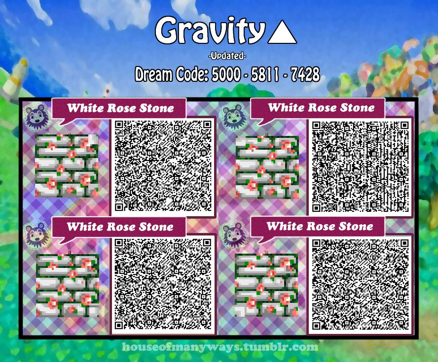Animal Crossing New Leaf Amp Hhd Qr Code Paths 3