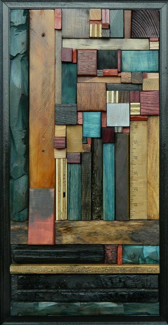 Recycled Wood Wall Art | Recycle | Pinterest | Wood wall ...