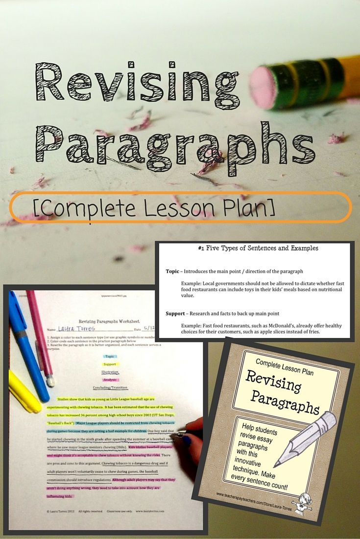 revising essays middle school Narrative writing guide   some of the most positive school-wide efforts have been derived as a result of school-wide writing assessments  such as revision and.