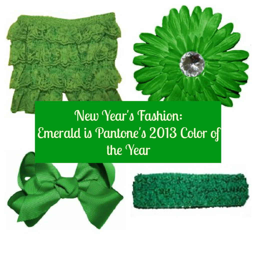The Pantone color of the year is Emerald! We have everything you need to stay colorful in 2013.