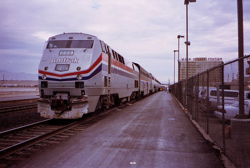 The Desert Wind at Las Vegas, Nevada. Service stopped in 1997.