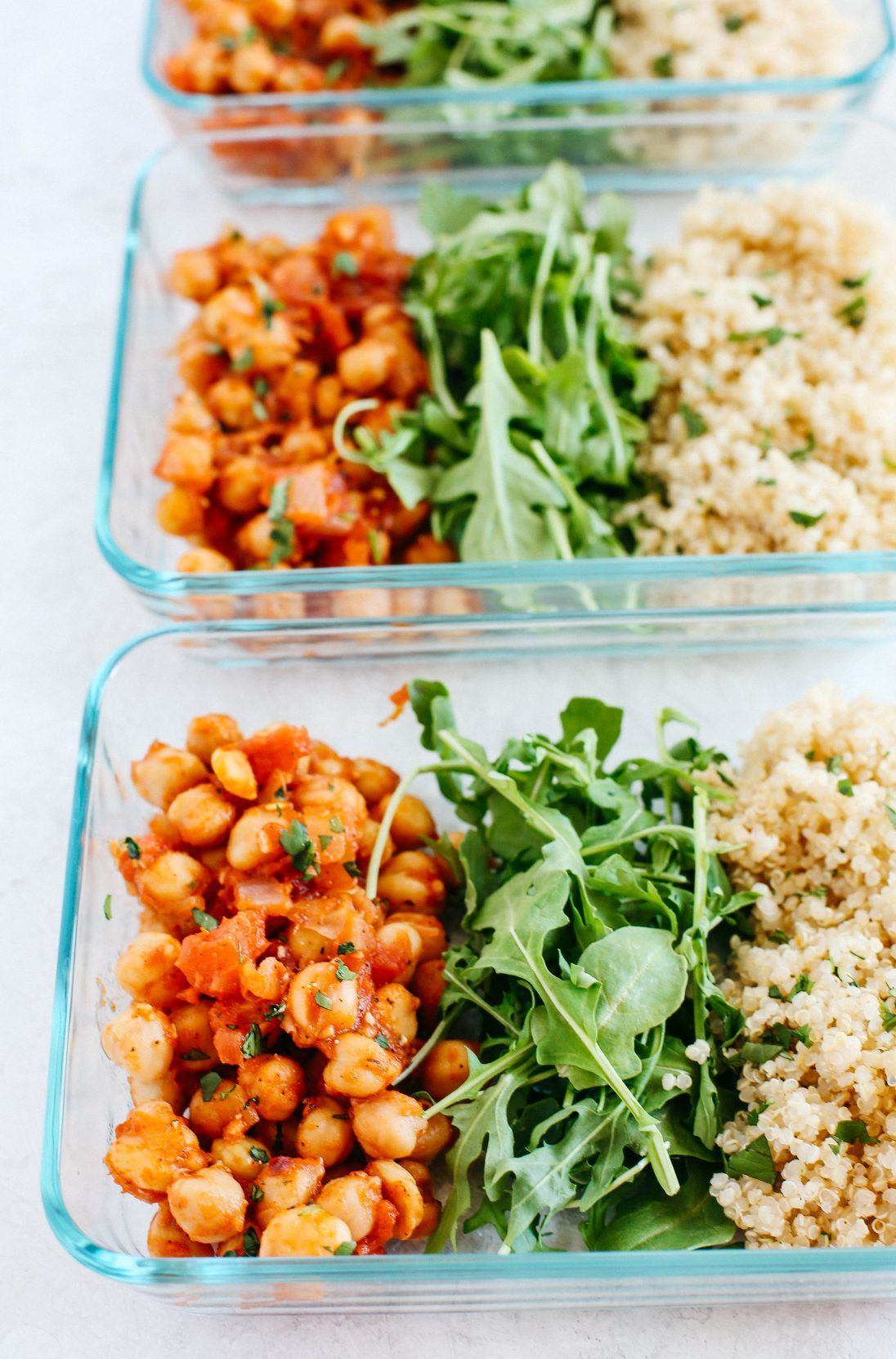 Spicy Chickpea And Quinoa Bowls