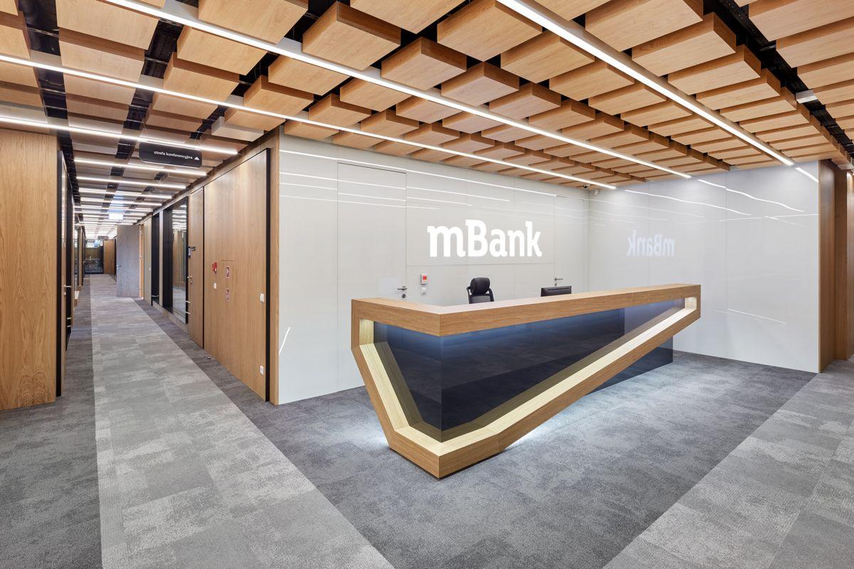 office design interior home mbank headquarters d corporate office design interior modern tour reception pinterest