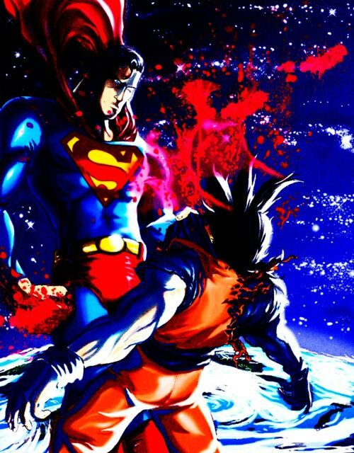 Superman is vastly superior to Goku when it comes to strength ...