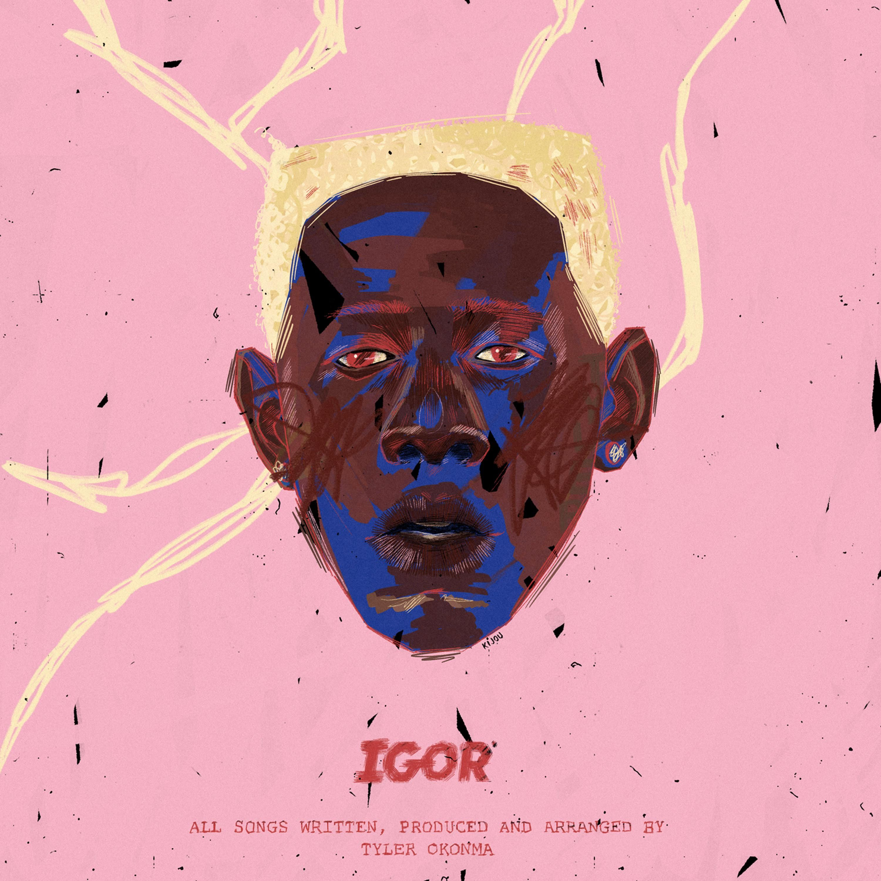 Igor Tyler the Creator. Illustrated album art by me