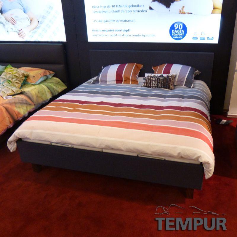 pleet tempur showmodel inclusief verstelbare bedbodem en breeze