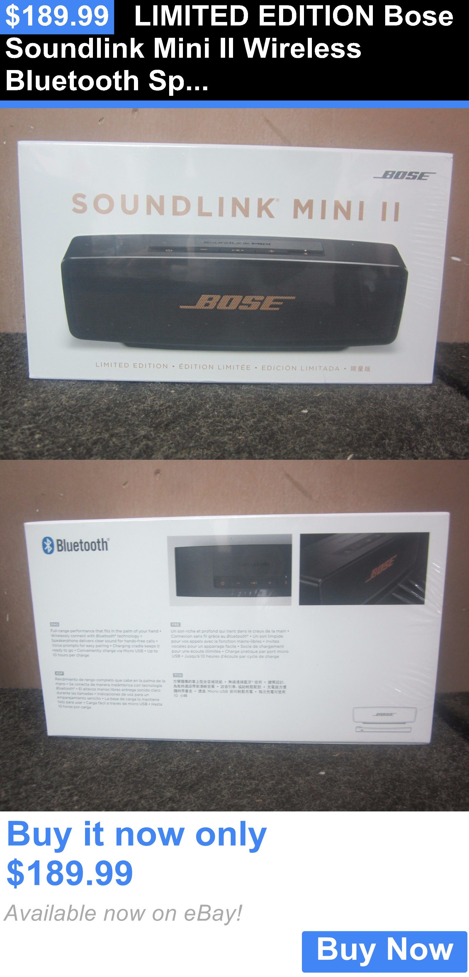 bose soundlink mini ii limited edition bluetooth speaker