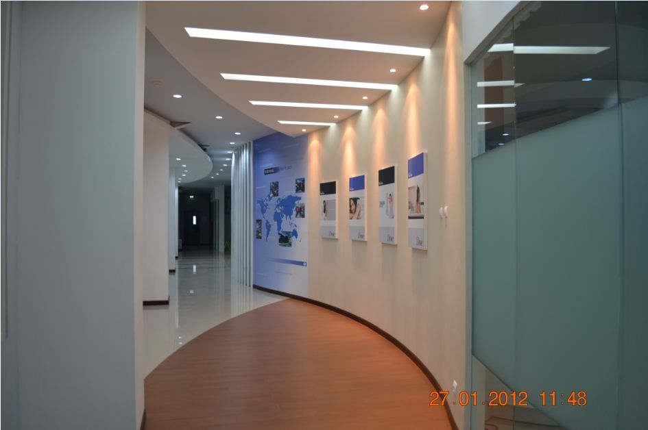 Interior design corridor