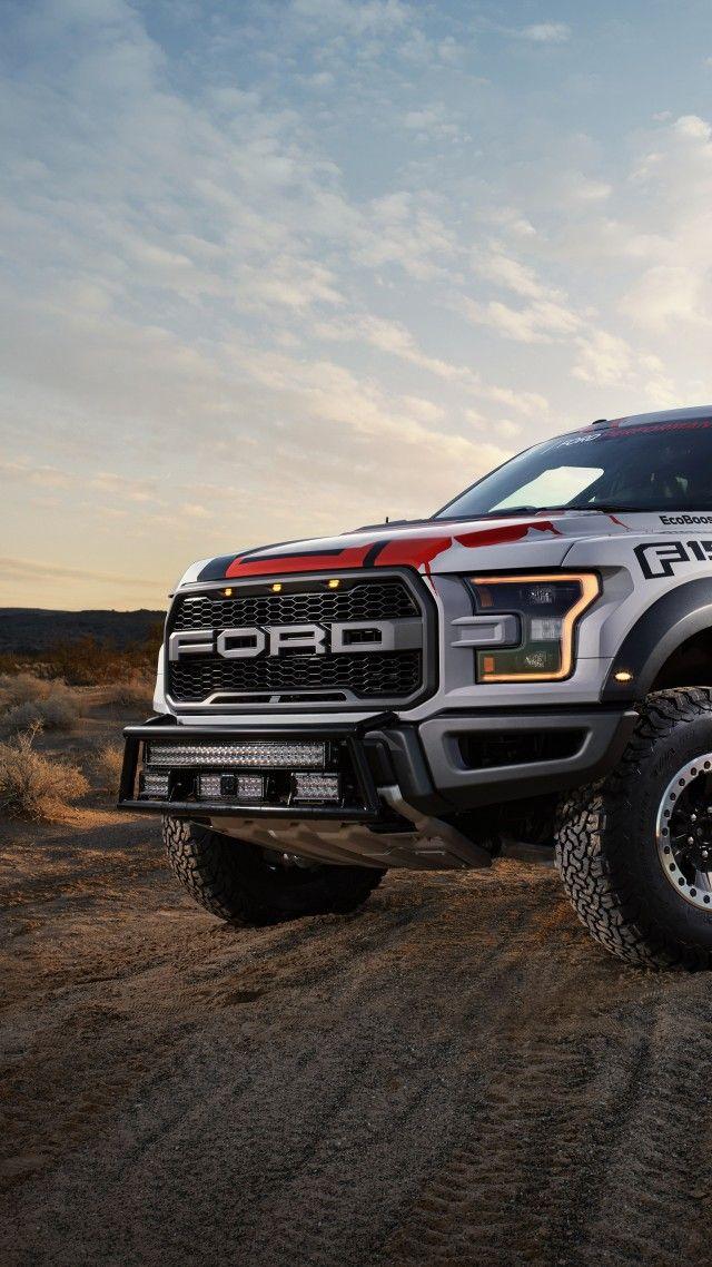 Ford F150 Raptor, Race Truck (vertical) Ford raptor