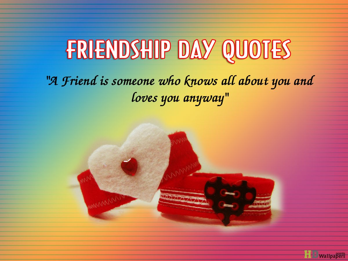 Essay on friendship day quotes – Help Your Studies