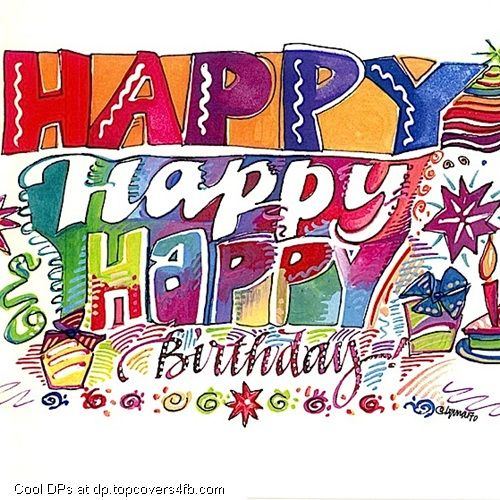 Water Color Birthday Greeting Card Cool Display Pictures Birthday Cards Images Free Birthday Card Birthday Greeting Cards