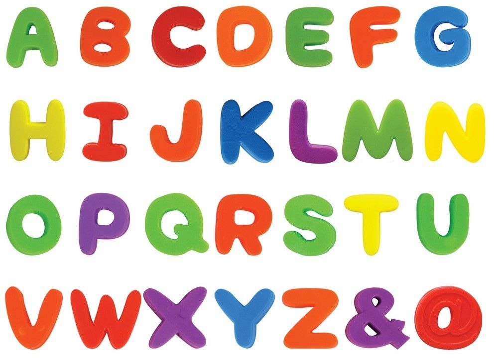 Kidstuff Magnetic Letters