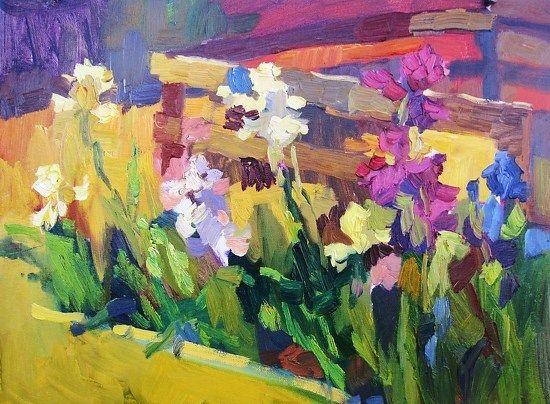 Garden Belles by Larisa Aukon Oil ~ 12 x 16 | Art Ideas | Pinterest ...