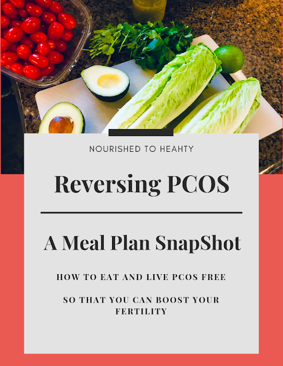 Reversing Pcos A Meal Plan Snapshot Pcos Meal Plan Pcos Diet Plan Pcos Diet