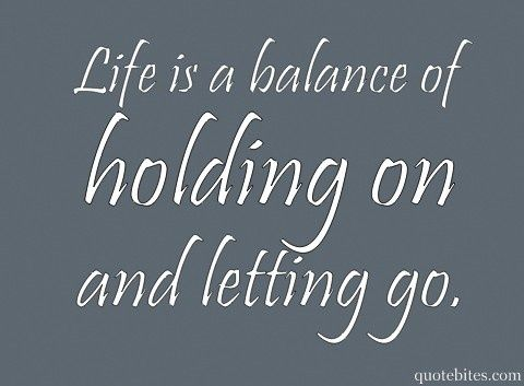 Life is a balance words personal-development