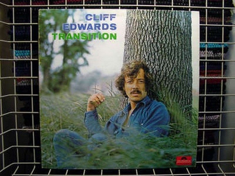 Cliff Edwards ‎- Transition CANADA 1973 Lp near mint Harmony Pop
