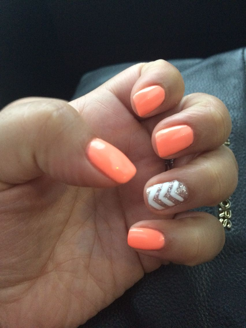 Summer no chip nails … | My Style | Pinterest | Summer, Manicure and ...