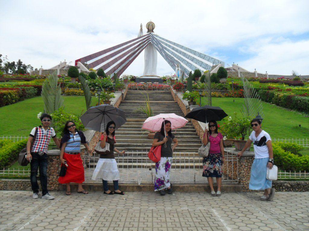giant divine mercy shrine at el salvador cdo philippines fave
