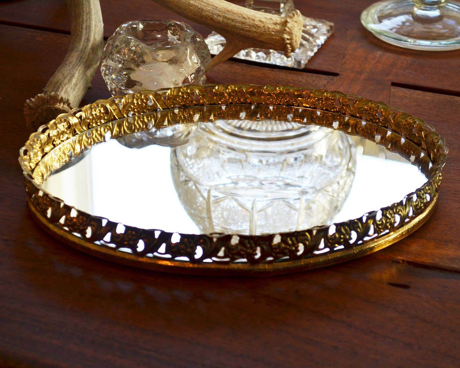 trays info oval tray vanity ebay hrcouncil mirrored perfume