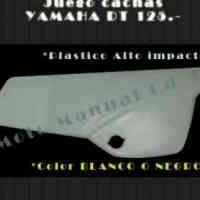Juego De Cachas Yamaha Dt 125 Moto Manual Cd