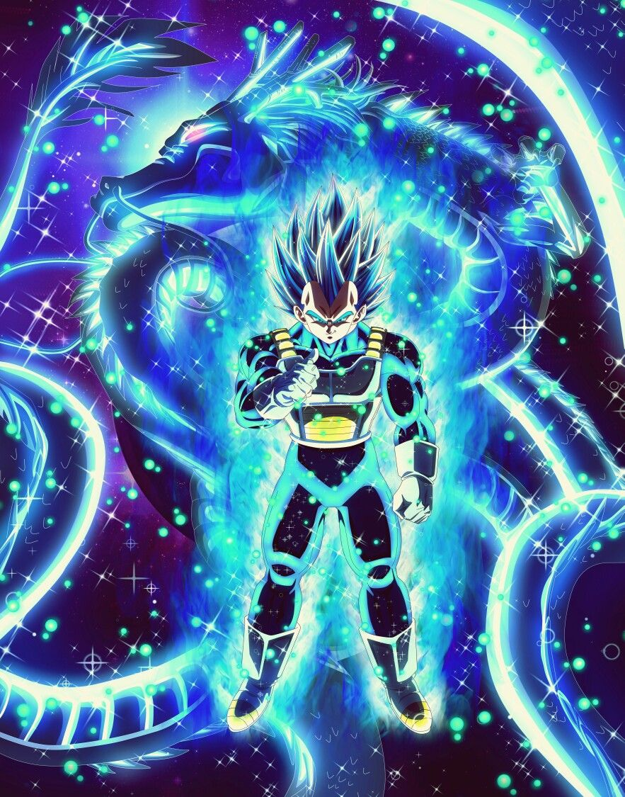 Vegeta Ssb Evolution Anime Dragon Ball Super Dragon Ball Artwork Anime Dragon Ball