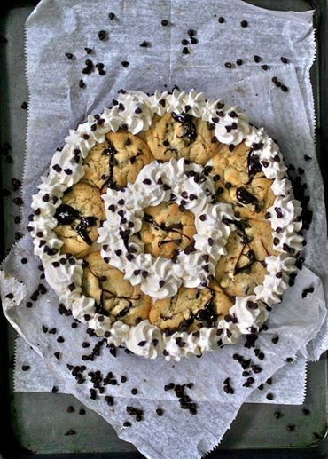 Cookiewich Ice Cream Cake