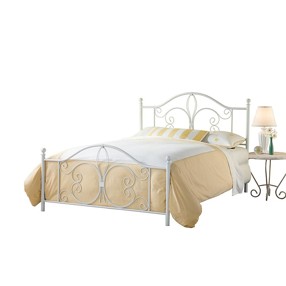 Hillsdale Furniture Ruby Queen Bed Set with Rails
